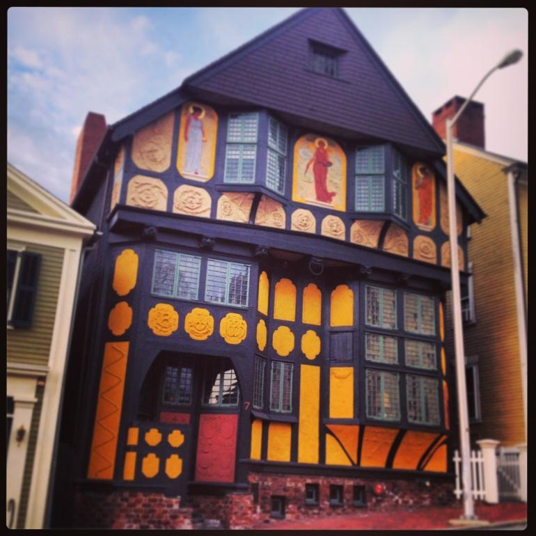 Who doesn't love the Fleur de Lis house?