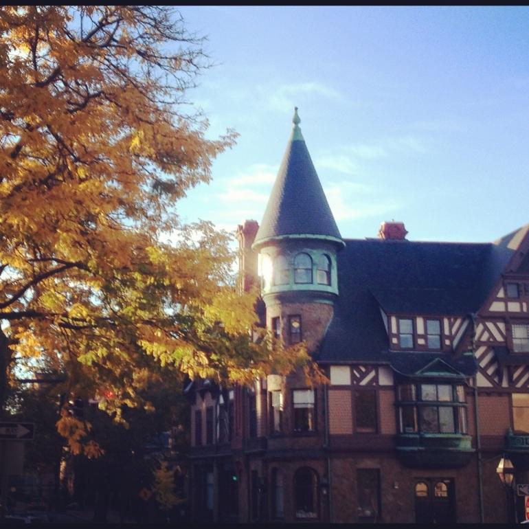 My favorite building in Providence- so German looking!