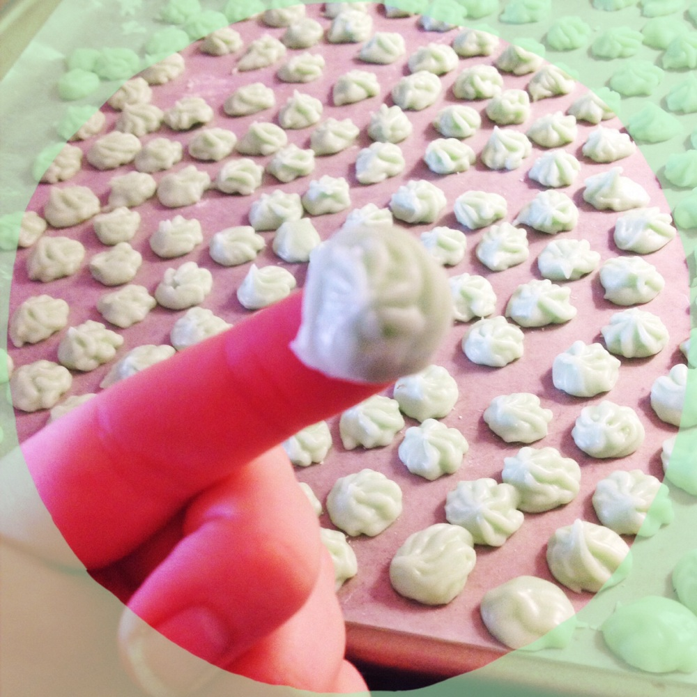 cream cheese mint candies