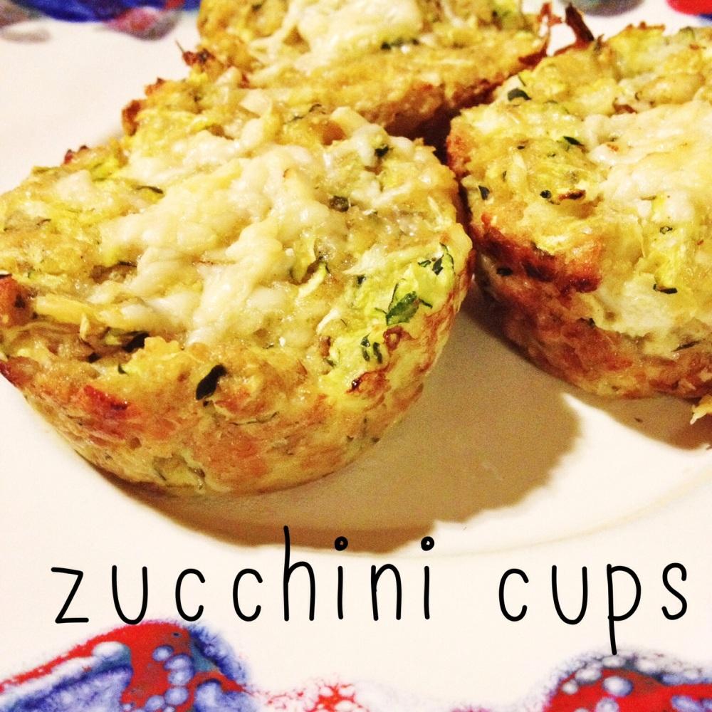 Zucchini Cups Recipe