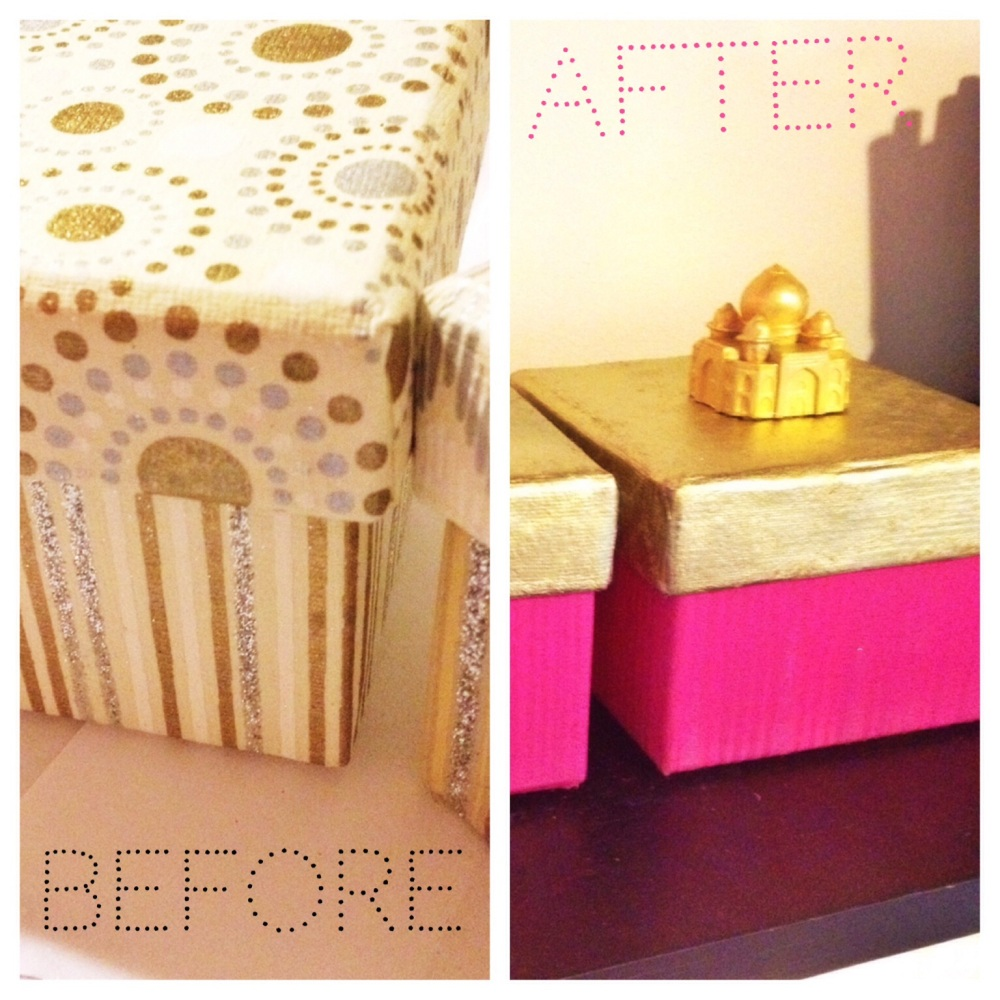 DIY Painted Box Makeover