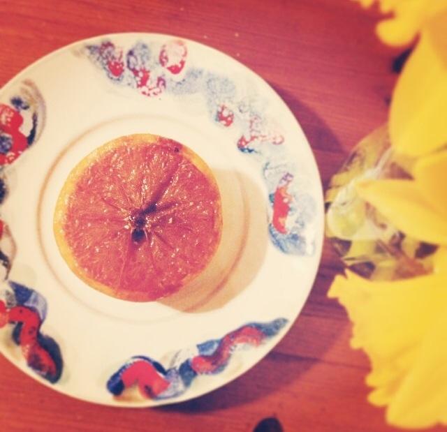 grapefruit brulee recipe