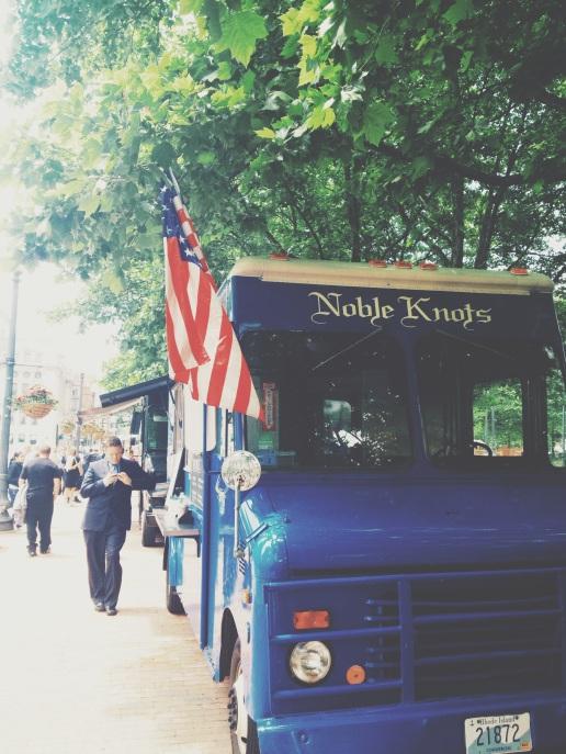 Providence Food Trucks- Noble Knots