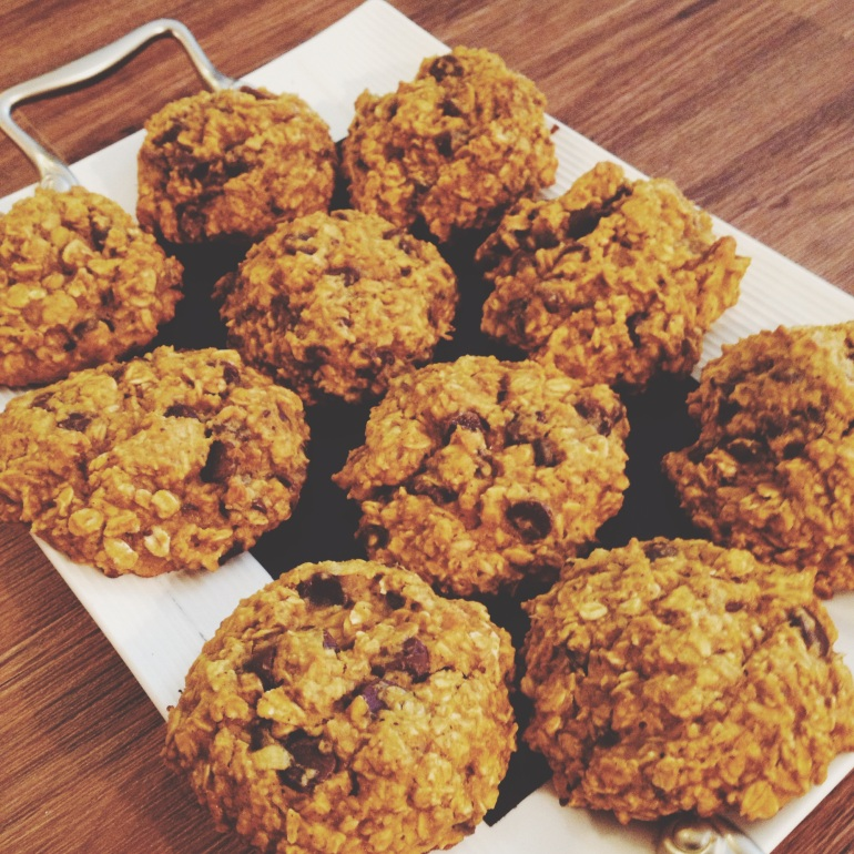 Pumpkin Oatmeal Cookie