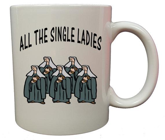 Single and ready to mingle.